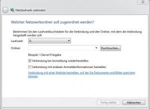 Netzlaufwerk wird nicht angezeigt