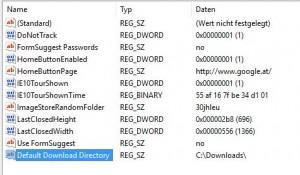 Microsoft Edge Download Ordner ändern 2
