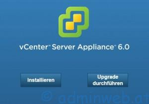 Upgrade vCenter 6.0 - 1
