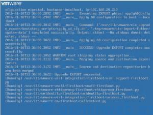 Upgrade vCenter 6.0 - 12