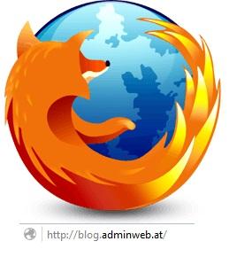 Firefoxlogo mit eigener URL