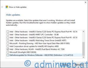 Microsoft Windows 10 automatische Treiberinstallation unterbinden 4