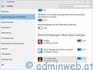 Windows 10 Benachrichtigungscenter 2