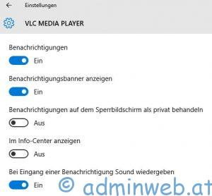 Windows 10 Benachrichtigungscenter 3