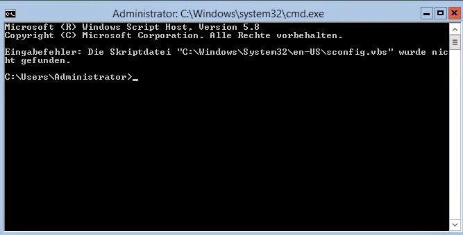 server-2012-r2-core-sconfig-wurde-nicht-gefunden