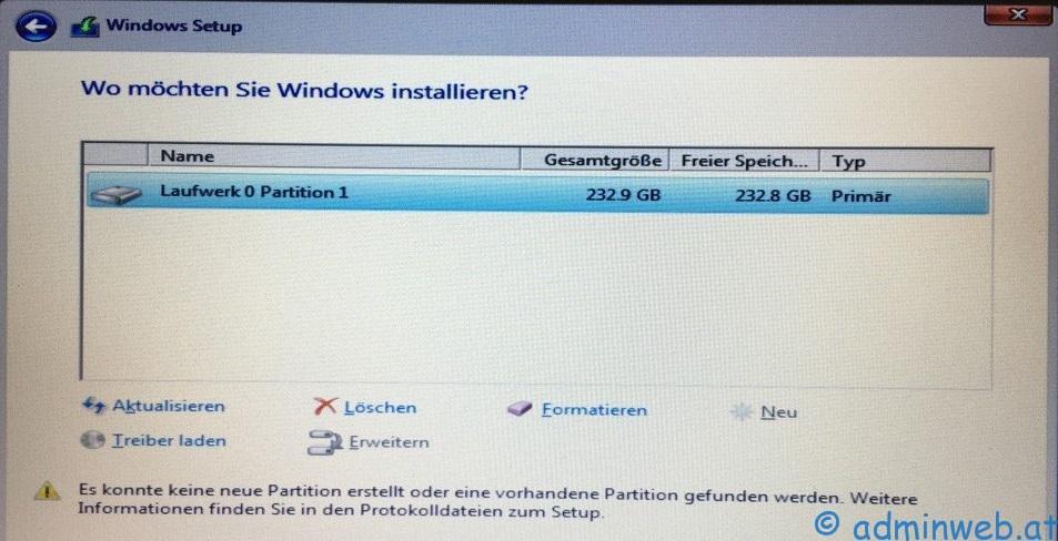 Bootmanager Windows 10